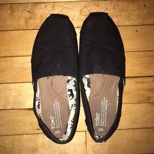 Black TOMS Shoes
